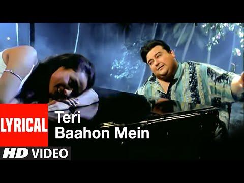 Teri Baahon Mein Lyrical Video Song  Tera Chehra  Adnan Sami Feat. Namrata Shirodkar
