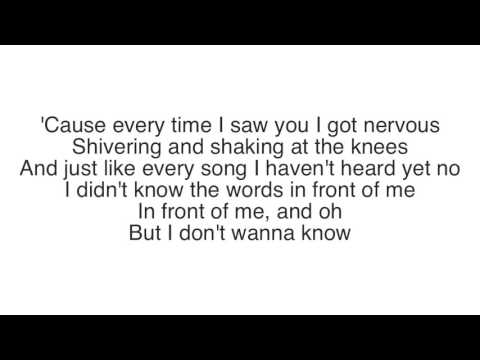 Gavin James - Nervous lyrics