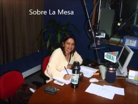 1° programa Sobre La mesa Radio Rural 13/02/2016