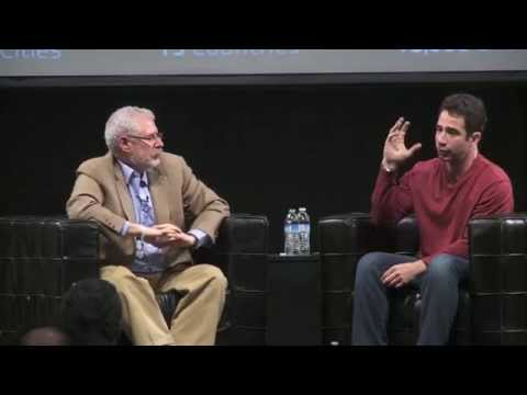 Steve Blank and George Zachary at Startup Grind