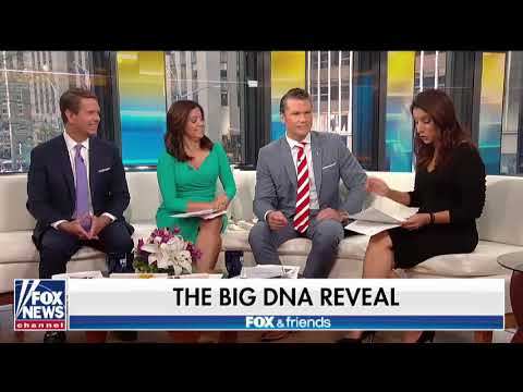 MyHeritage DNA Reveal on Fox and Friends