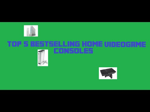 Top 5 Bestselling HOME video game consoles [Dr.Creeper]