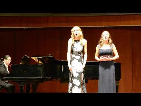 Anna Wojcik & Ella Farlinger  Vo Cercando by Emanuele Barone D'Astorga
