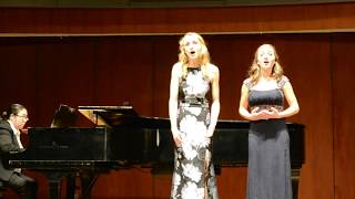 "Vo Cercando ""Kammerduett"" (Emanuele Barone D'Astorga) - Anna Wojcik & Ella Farlinger"