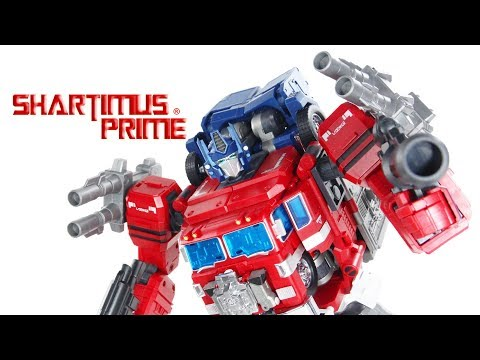 FansHobby Power Baser Transformers Powermaster Optimus Prime MP 3rd Party Action Figure Toy Review