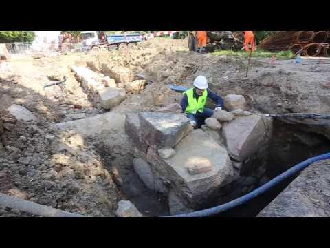 Archeologiczne Odkrycie Na Remontowanej Ul. Pieniężnego W Olsztynie