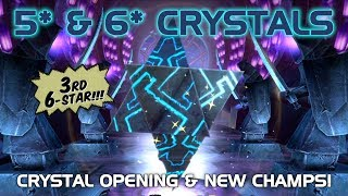 3rd 6-Star & 4 5-Star Hero Crystal Opening | Marvel Contest of Champions