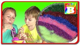 Ice Cream Slime! Amestecam 6 culori de slime   Bogdans`s Show