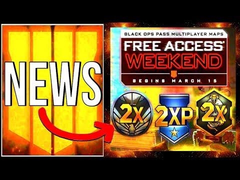 BO4 DLC MAPS KOSTENLOS und 2XP EVENT! (bo4 news deutsch)