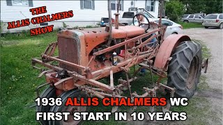Repeat youtube video Allis Chalmers Show: 1936 Allis Chalmers WC First Run In 10 Years