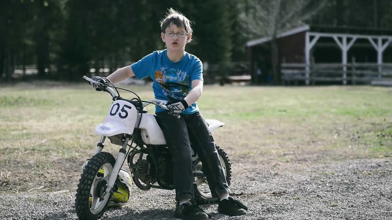 Super Cool Dirt Bike Tricks With Matthew Youtube