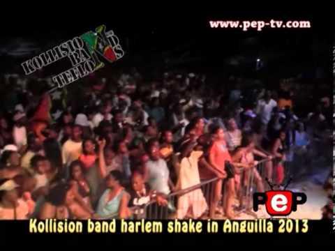 Kollision band harlem shake in anguilla summer festival 2013