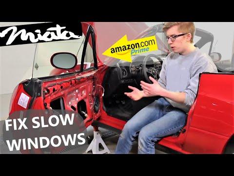 How to Fix Slow Windows NA Mazda MX-5 Miata DIY