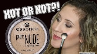 ESSENCE PURE NUDE HIGHLIGHTER | HOT OR NOT!?