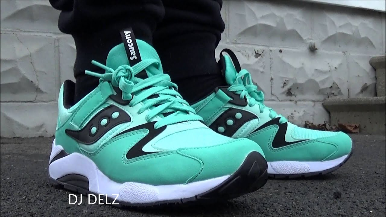 saucony shadow 9000 mint