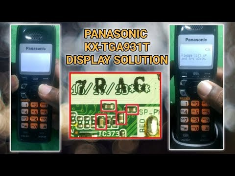 Panasonic Cordless Phone Display Problem ||Telugu||