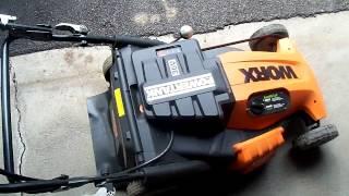 Worx 36v cordless mower