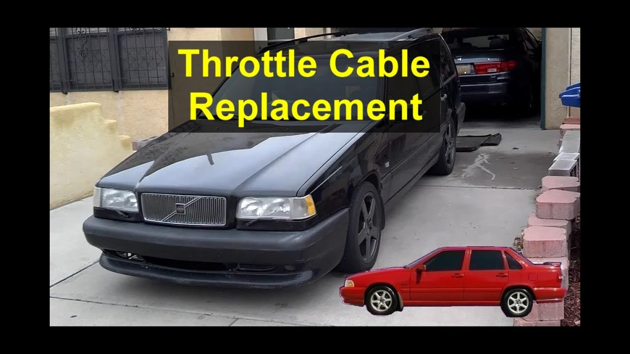 Volvo 850 Alternator Replacement - Throttle Cable Replacement Volvo S Votd - Volvo 850 Alternator Replacement