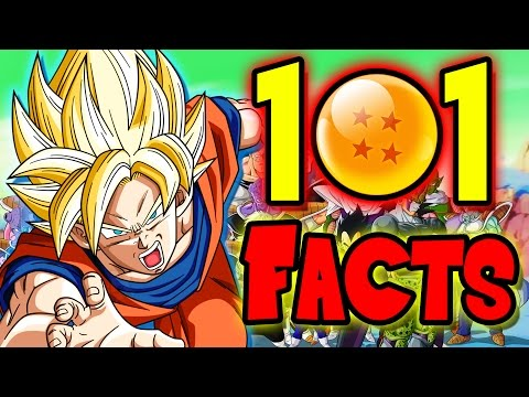 101 Dragon Ball Z Facts That You Probably Didn't Know! (101 Facts) | DBZ | The Week Of 101's #7