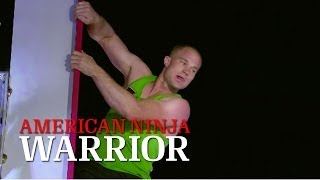 Brian Arnold at the National Finals Stage 3 | American Ninja Warrior