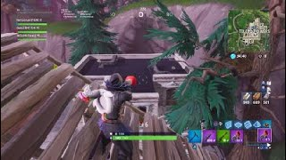 Fortnite: a genial bug with the cleater and springboard