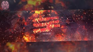 Tutorial: 3D Lava Scene Banner | C4D & Photoshop by Qehzy