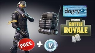 HOW TO GET SKINS AND V-DOLCE FOR FORTNITE FOR FREE!!! DOGRY