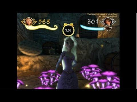 Рапунцель: Запутанная история - дорога воров прохождение видео игры часть 12 Disney Tangled