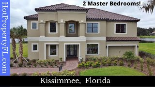New Home Tour | Kissimmee / Orlando FL | Bellalago / Bimini Model Taylor Morrison Homes $420K  base*