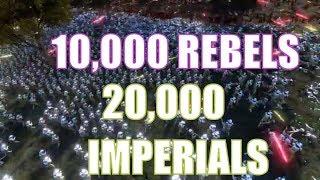 Rebel Troops vs Imperial Troops - Ultimate Epic Battle Simulator