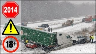 CRAZY Truck Crashes, Truck Accidents compilation - Part 2