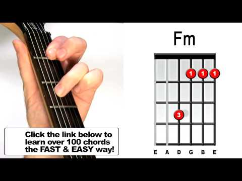 Easy Fm Guitar Chord Choice Image - guitar chord chart with finger ...
