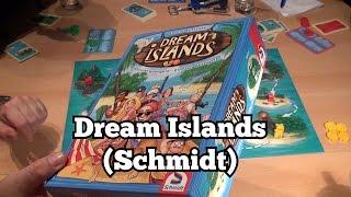 Dream Islands im Test (Schmidt): Rezension und Beispielrunde von Spiele-Podcast.de