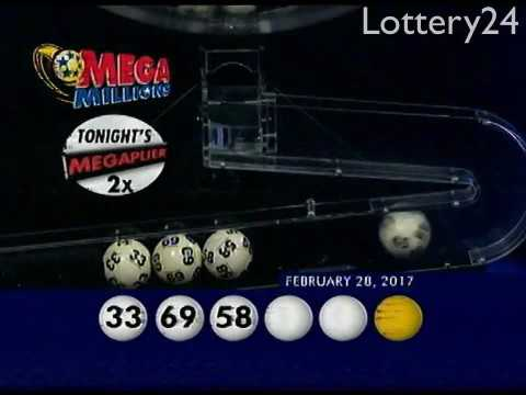 2017 02 28 Mega Millions Numbers and draw results