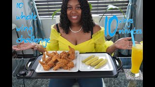 Chicken Wing Challenge | 10 Wings in 10 minutes