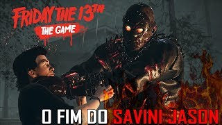 DERROTAMOS O SAVINI JASON ( HELL JASON ) - Friday The 13th The Game