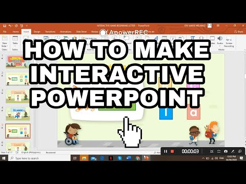 HOW TO MAKE AN INTERACTIVE POWERPOINT | EASY steps
