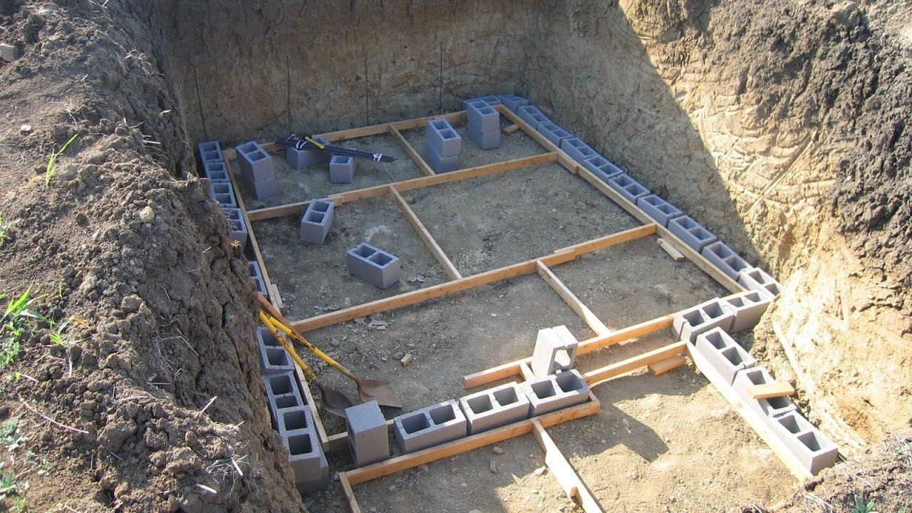 How To Build A Storm Shelter - YouTube