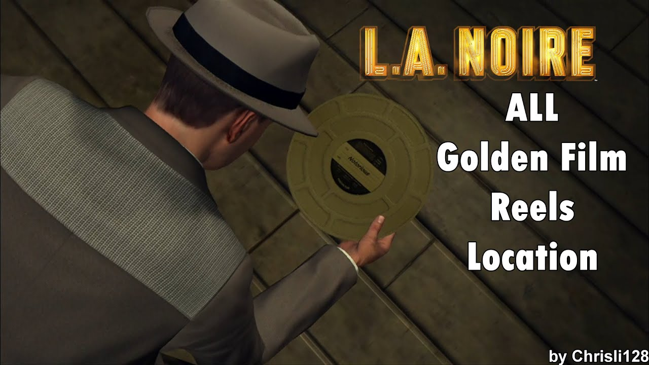 l a noire all golden film reels location youtube. Black Bedroom Furniture Sets. Home Design Ideas