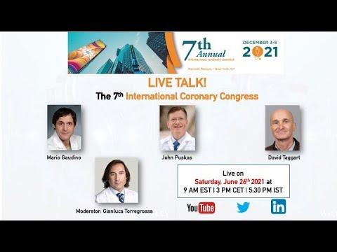 International Coronary Congress 2021: Live Stream