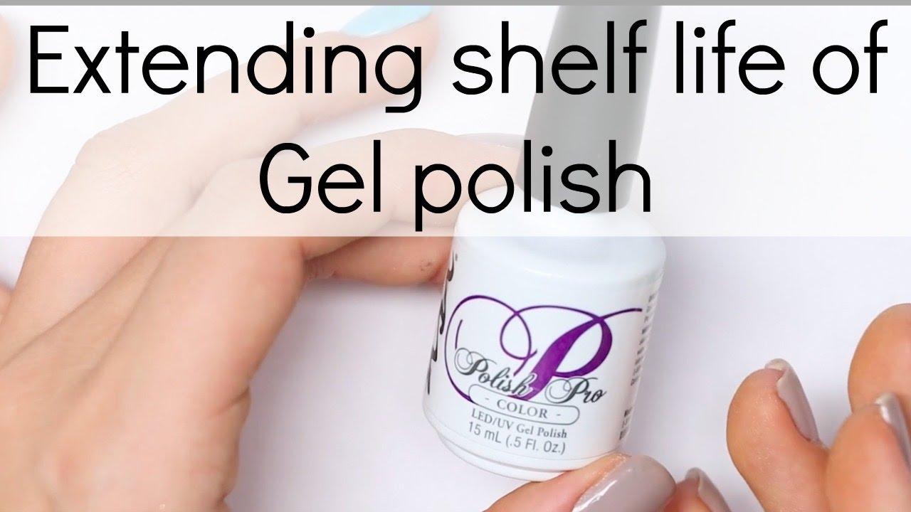 How To Prolong Life Of Your Gel Polish Bottle Nail Tech Secrets