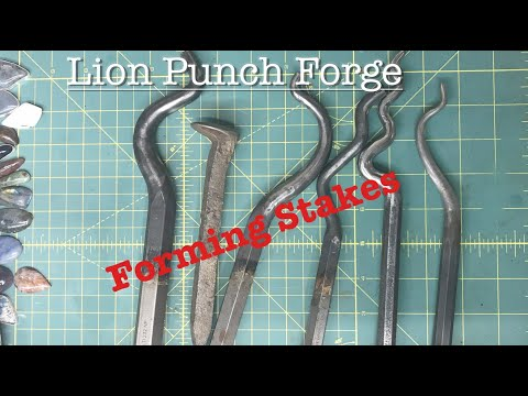 CHEAP!  DIY forming stakes for the metalsmith. Make your own tools! jewelry basics