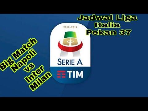 #Jadwal Serie A Italia Pekan 37