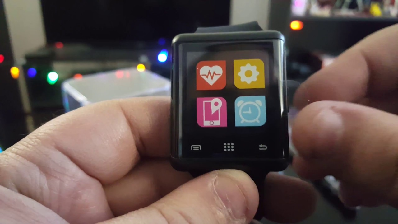 Itouch Air 2 Heart Rate Unisex Multicolor Smart Watch - Rating Walls
