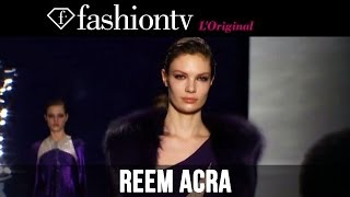 Reem Acra Fall/Winter 2014-15 | New York Fashion Week NYFW | FashionTV