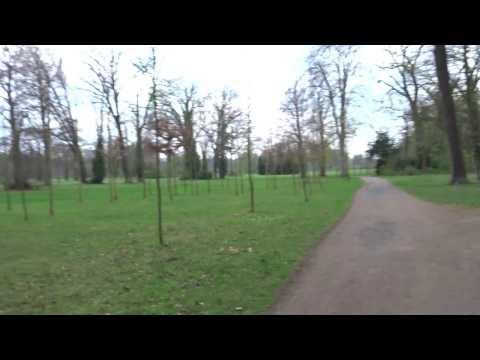 Walking from Sanssouci Palace to Neues Palais (Potsdam, Berlin)