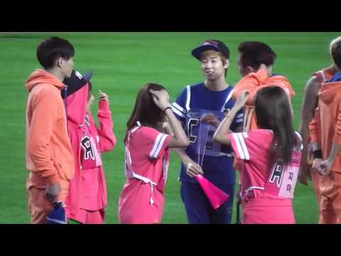 130903 MBC Idol Athletics Miss A Min Fei Jia
