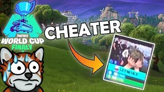 CHEATER ON WORLD CUPIE? PLAYER KICKED OUT OF THE MATCH! -Fortnite Ewron #298