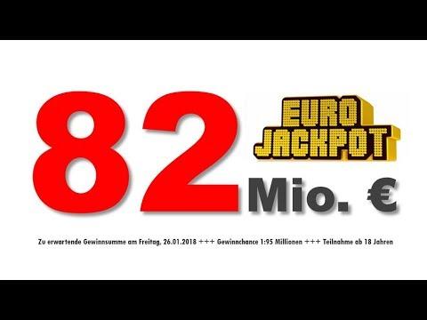 Eurojackpot Ziehung 01.05 20