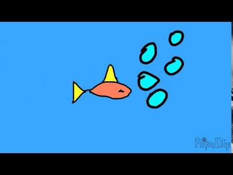 Анимация #1 Рыбка